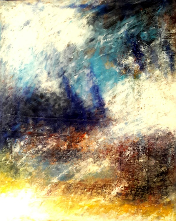 A turbulent sky in summer - Image 0