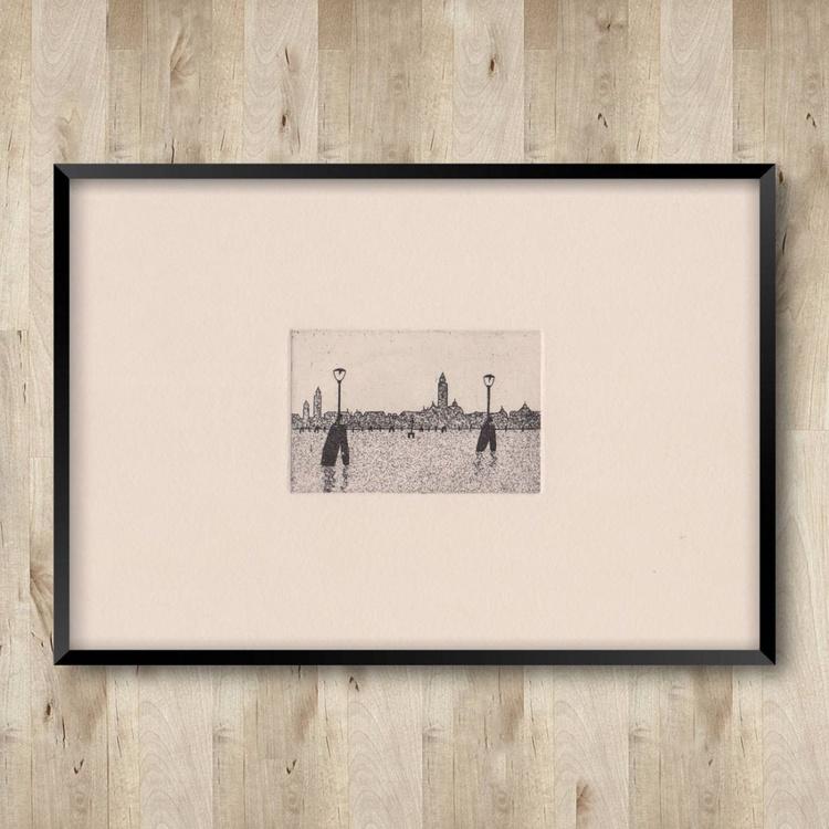 Venice skyline ivory - Image 0