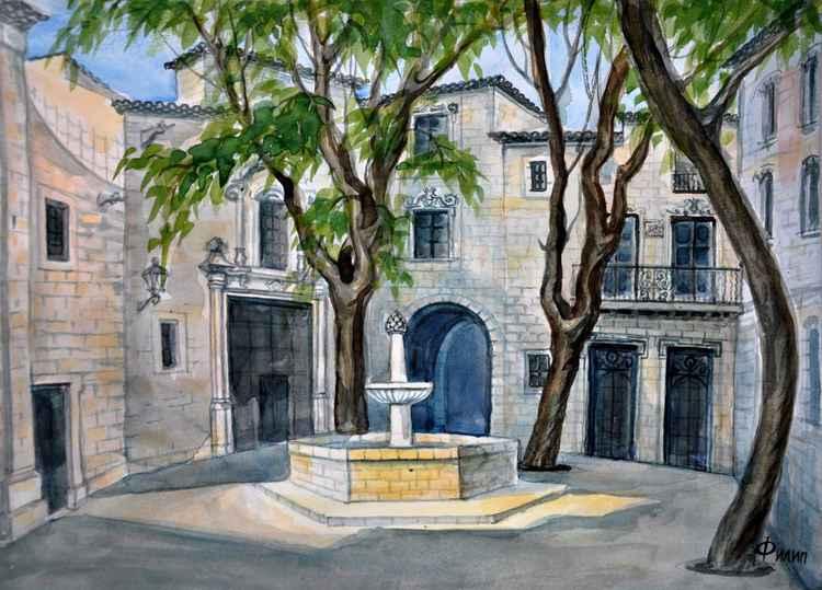 PLAZA DE SAN FELIPE NERI (BARCELONA) -