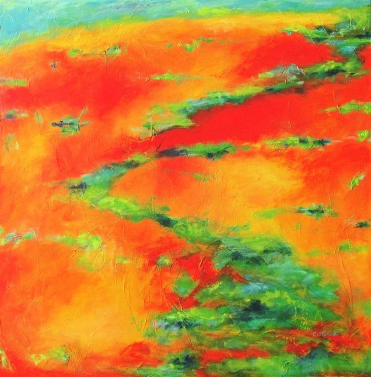 Orange Landscape - Image 0