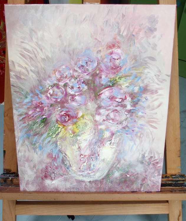 Dusky Pink Roses - Image 0