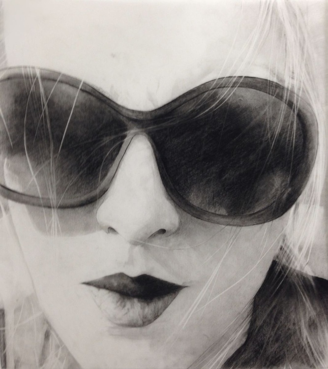 """""""travelling in sunglasses and light (selfportrait)"""" - Image 0"""