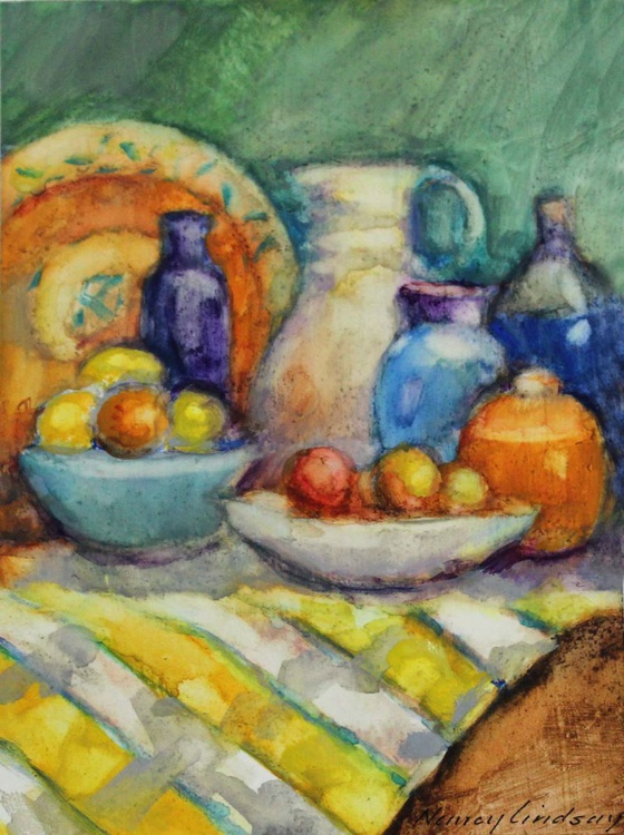 Still Life with Apples - Image 0