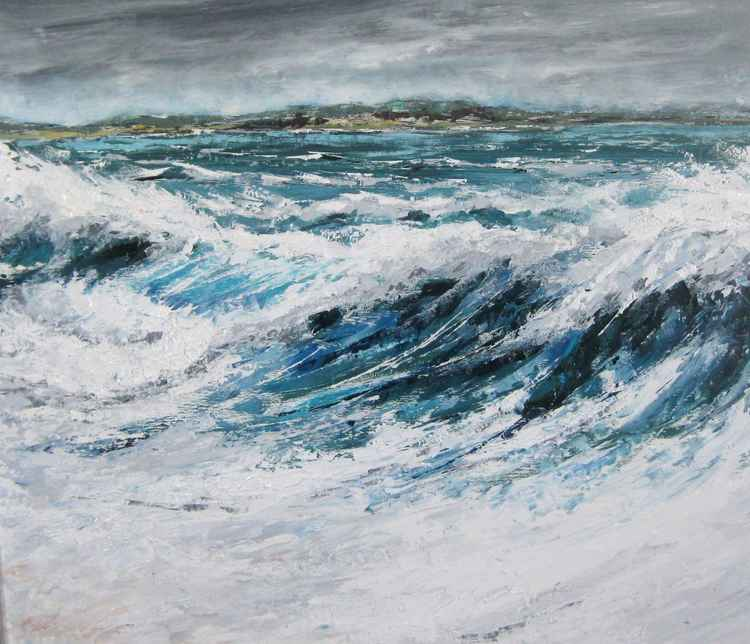 Westerly Breeze in Sandquoy Bay -