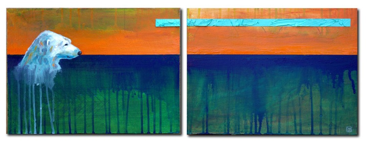 The Long Weight (diptych) - Image 0