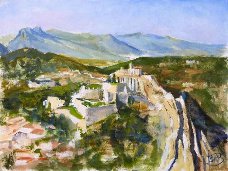 Sisteron in Provence -