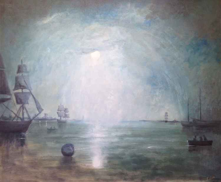 Keelmen (after Turner) -