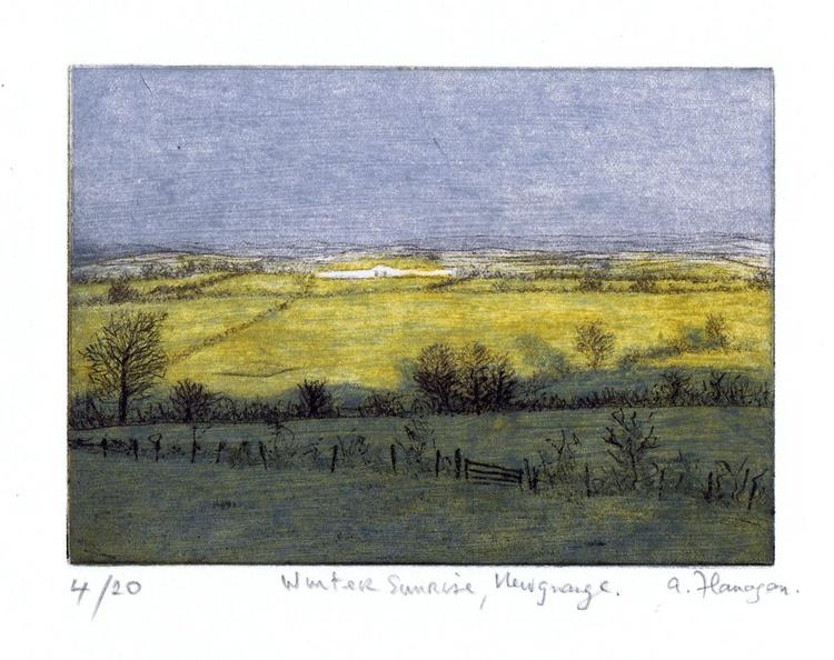 Winter Sunrise, Newgrange - Image 0