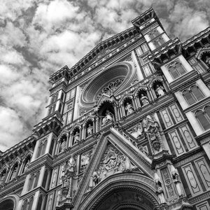DIVINO DUOMO - FLORENCE, ITALY  by ASmallWorldPhotography - Black & White Collection