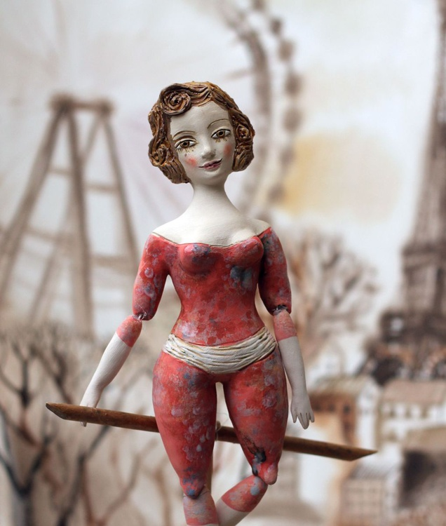 Acrobat girl, by Elya Yalonetski - Image 0