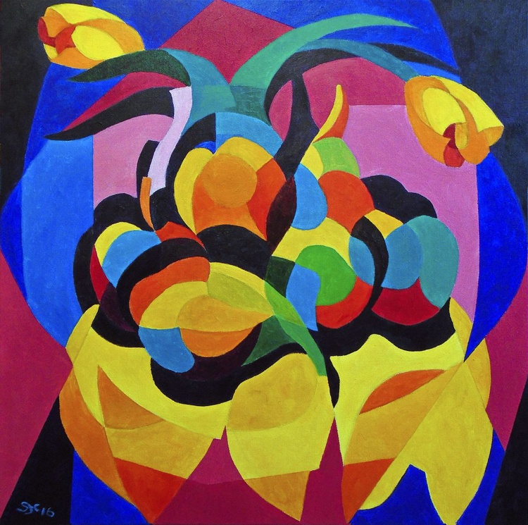Still Life with Yellow Tulips - Image 0
