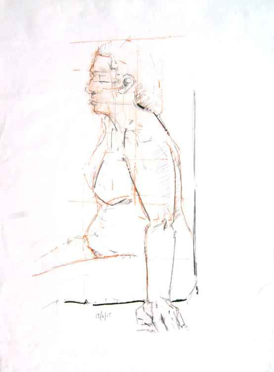 Life Drawing No  48 -