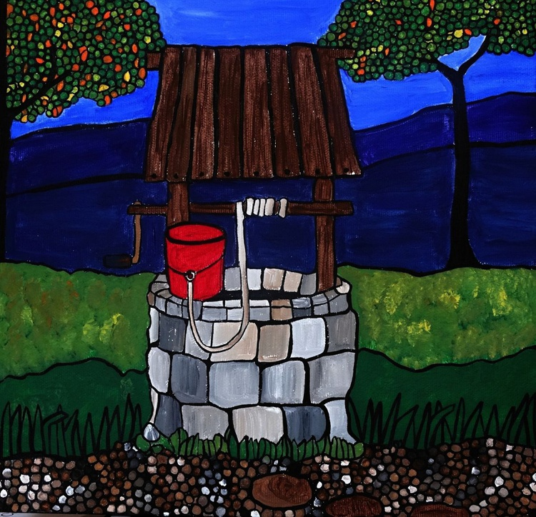 Down at the wishing well - Image 0