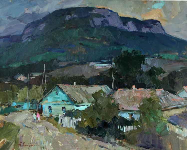 Crimean mountains -