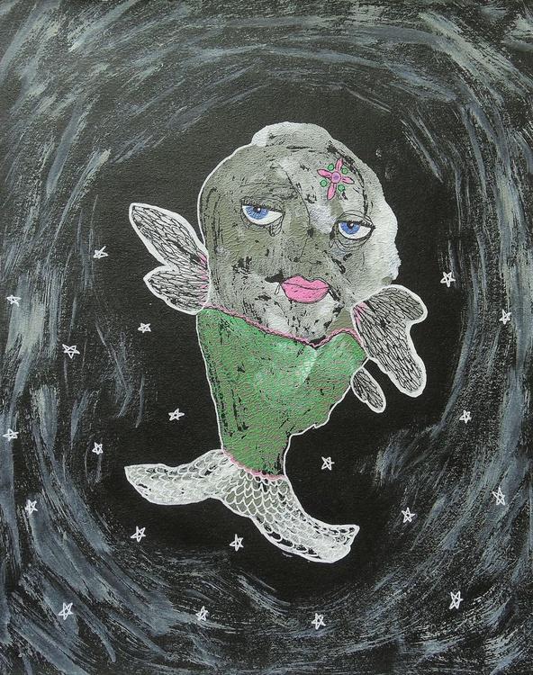 Funky Pink Lipped Fish - Image 0