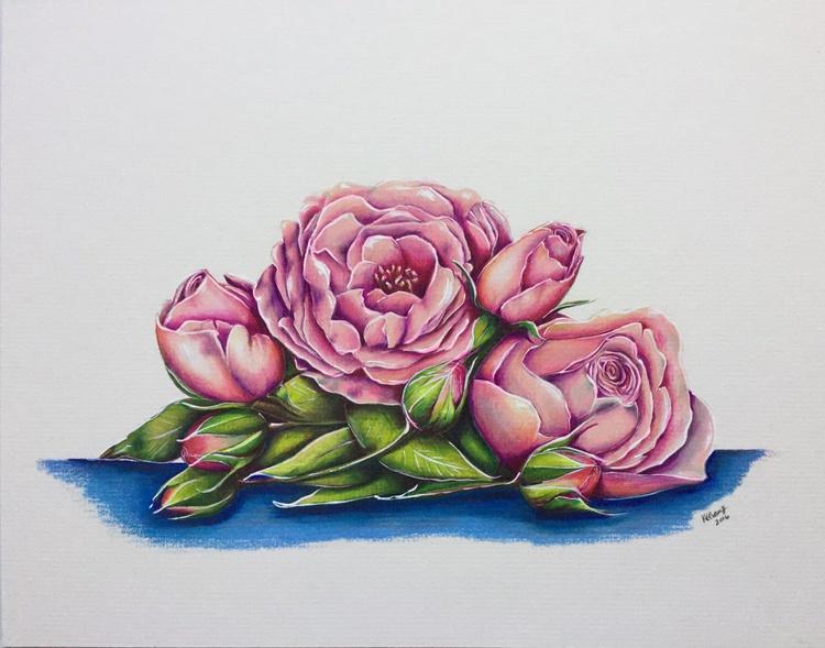 Wild pink roses - Image 0