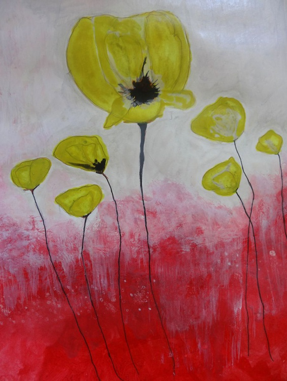 Yellow Poppies - Image 0