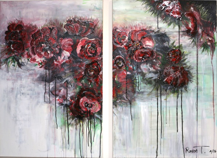"""MERAH -(A """"FLOWERS"""" COLLECTION) - Image 0"""