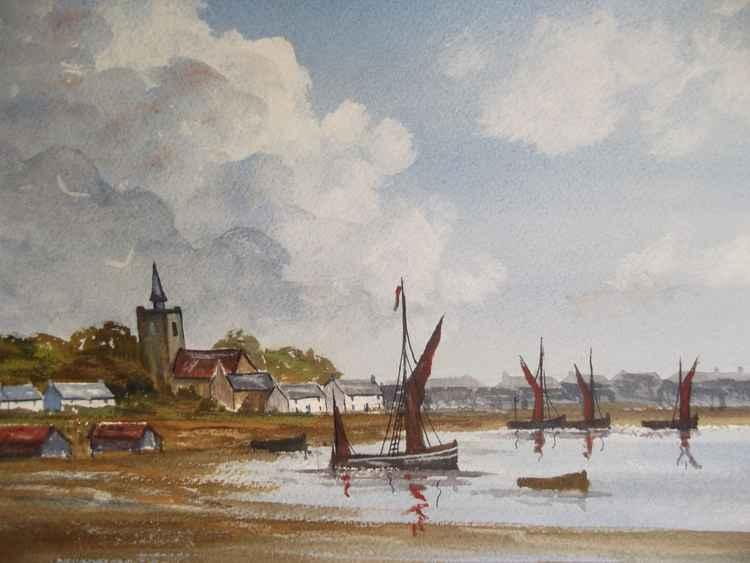 Maldon Barges, Maldon, Essex