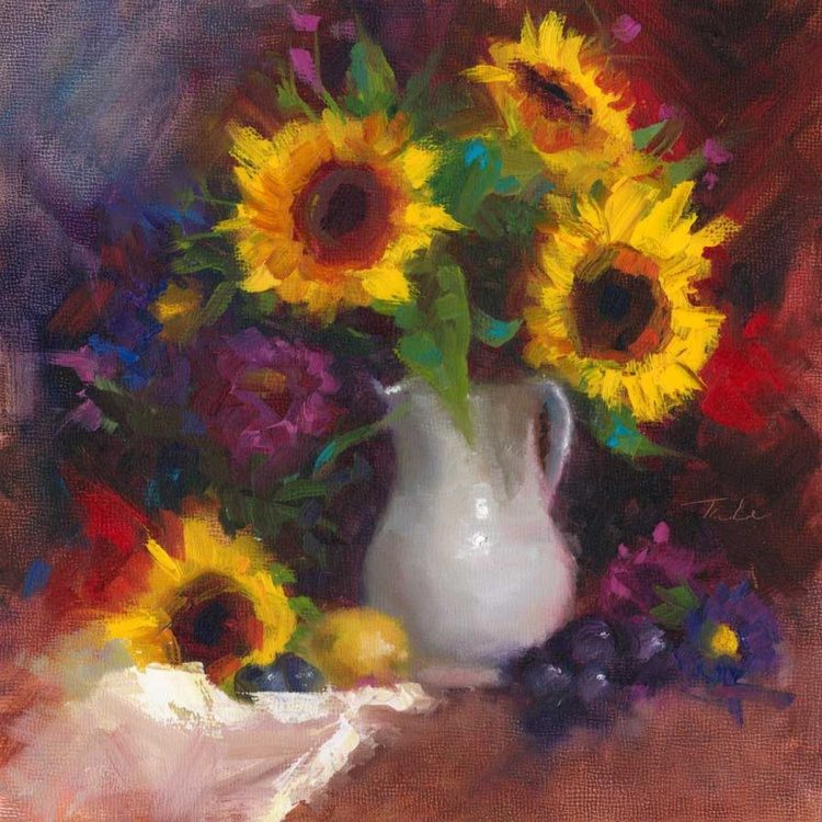 Dance With Me - Sunflower Still Life - Image 0