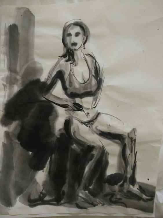 Seated Woman -