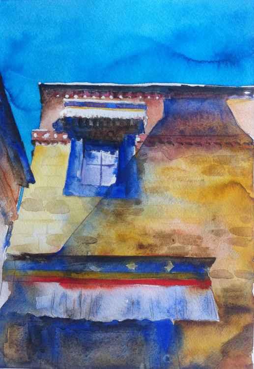 Tibetan Monastery window -