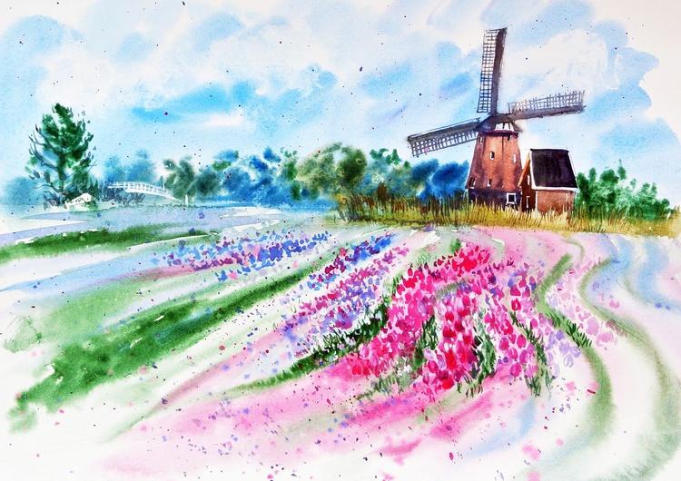 Tulip Fields in Keukenhof - Image 0