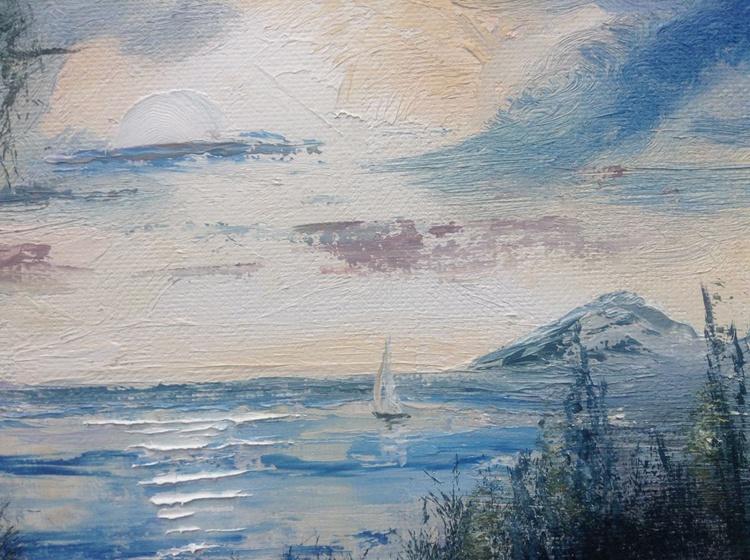 Sunrise over the Lake - Image 0