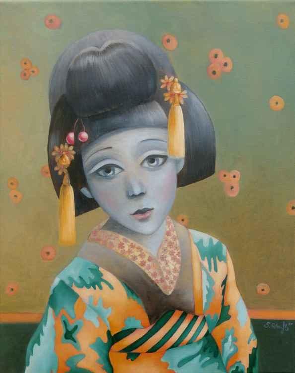 `Little Dreaming Geisha`