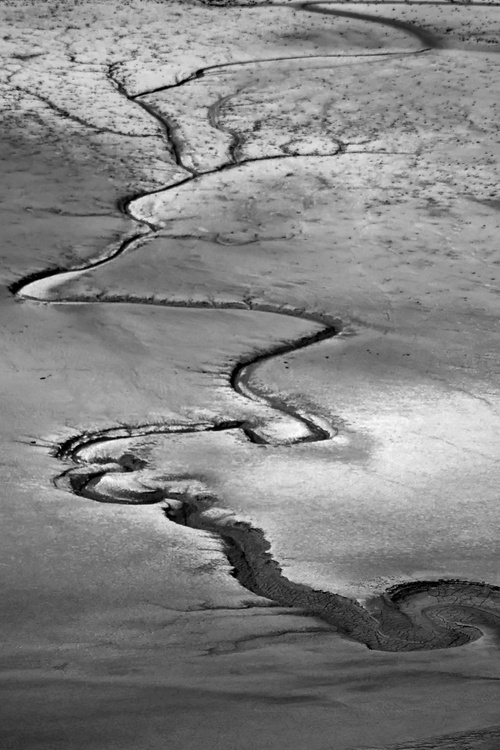 The sands of the Mont St Michel - Volutes - Image 0