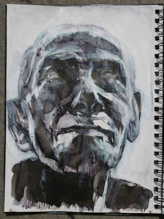 Sketchbook Study 7 March 2015 -
