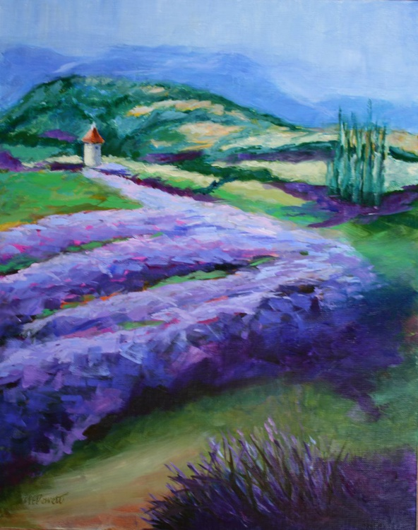 French Lavender Fields - Image 0