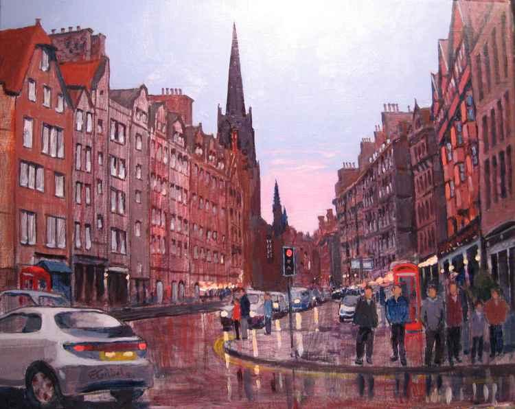 """Golden Mile"" Edinburgh Scotland -"