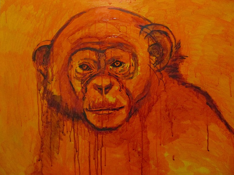 Red Fire Monkey - Image 0