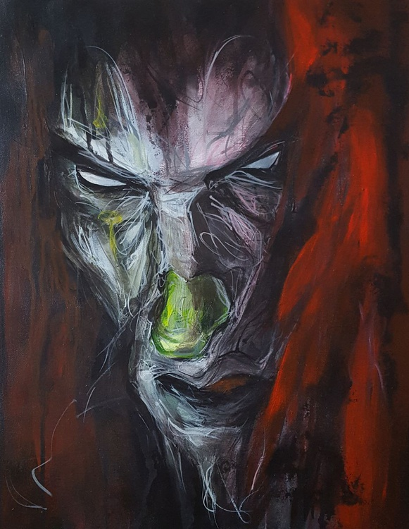 Creepy clown 5 - Image 0