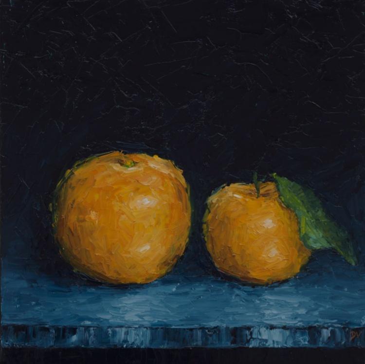 Emerge #4 - Orange and Mandarin - Image 0