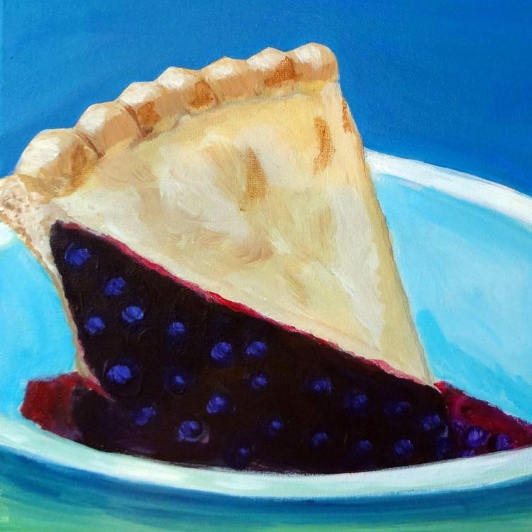 Blueberry Pie Slice - Image 0
