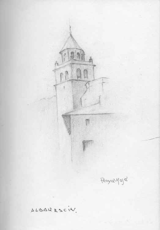 Albarracin tower 2 -