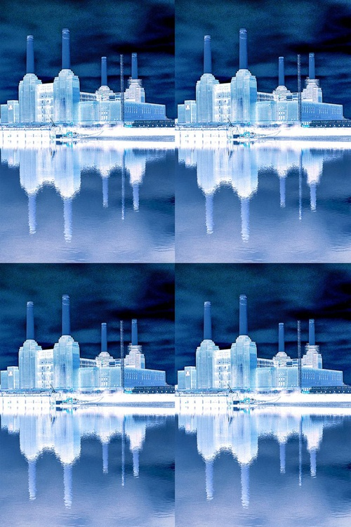 BATTERSEA BLUE X4 Limited edition  2/25 18in x 12in - Image 0