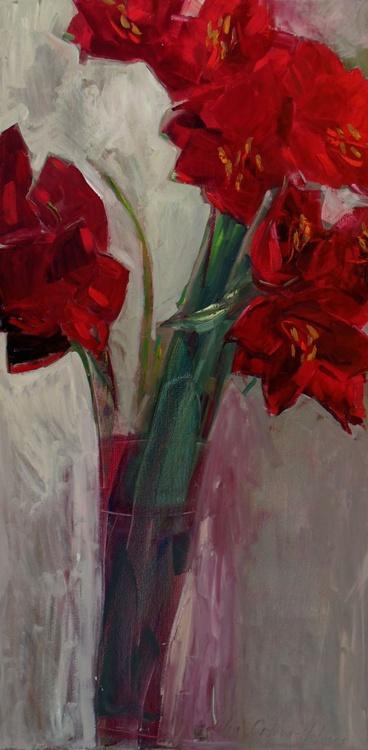 Red amaryllis - Image 0