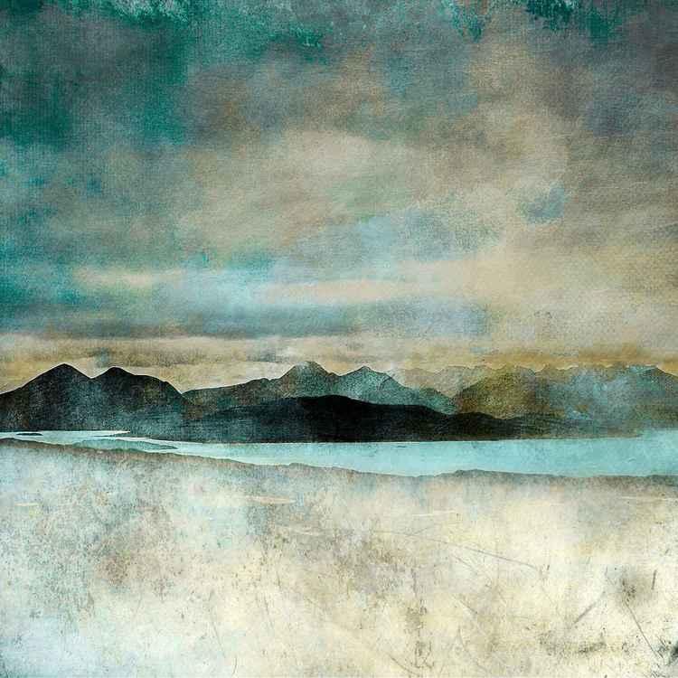 Isle of Skye Large Giclee Print. From the Bealach Na Ba, Applecross -