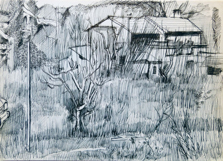 Winter In The Country, 21x29 cm - Image 0