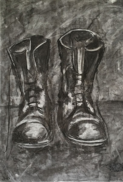 Charcoal Boot - Image 0