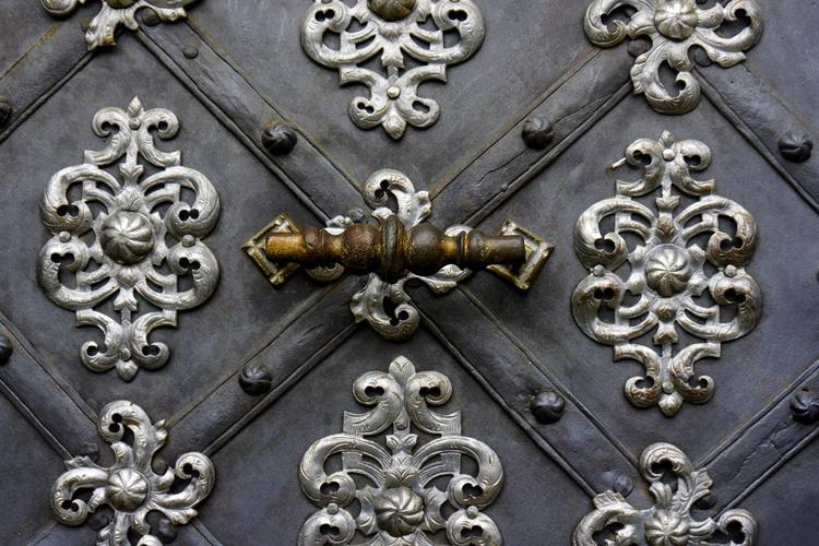 "Grand door (Prague)  Limited edition  1/150 12""x 8"" - Image 0"