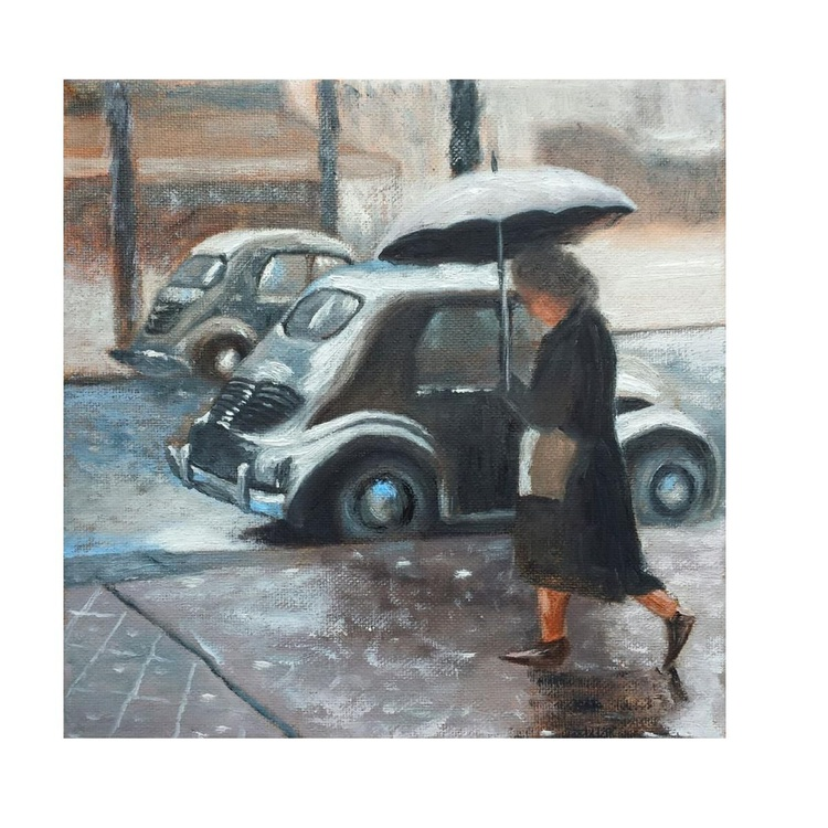 Moments back in time - Rainy day - Image 0