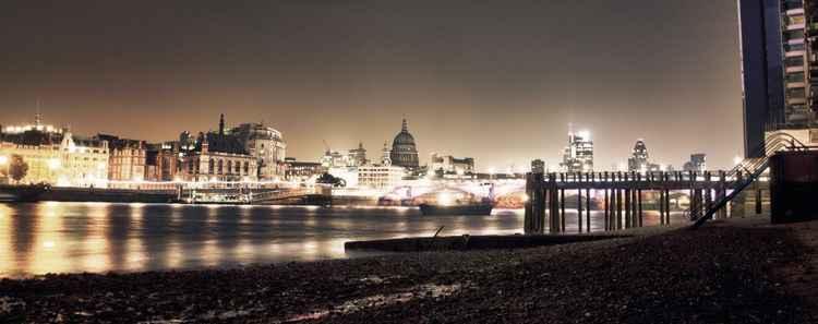 London City Skyline - Panoramic
