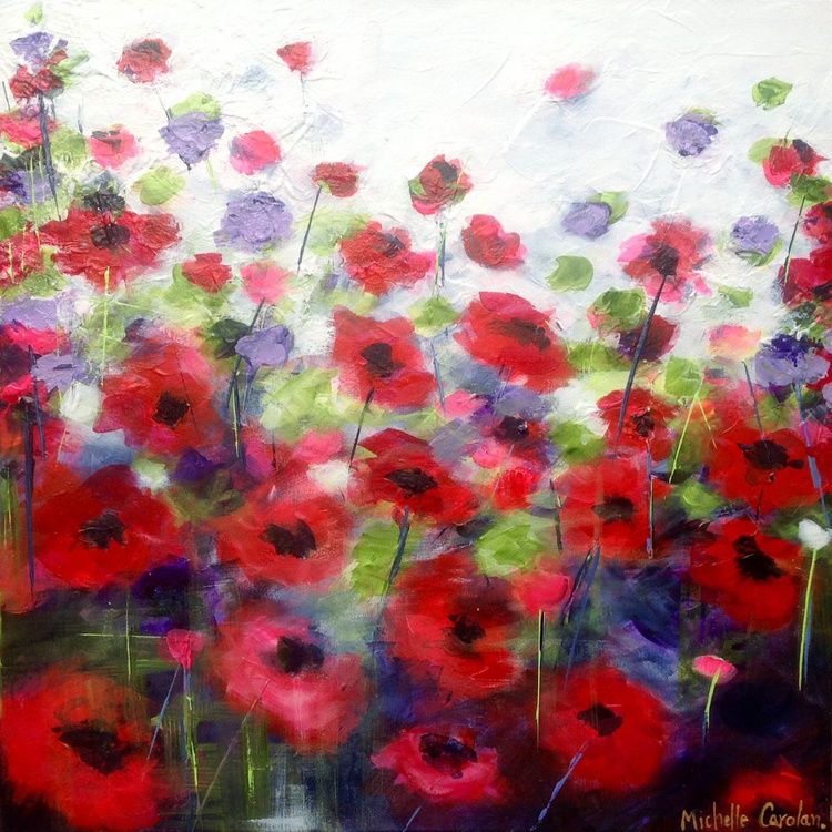 Windswept Poppies - Image 0
