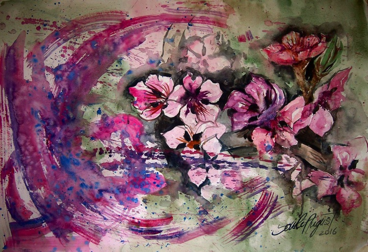 Apple Tree Blooms - Image 0