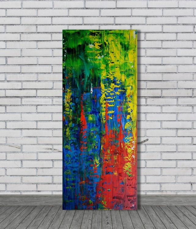 Color Rush II (50 x 120 cm) - Image 0