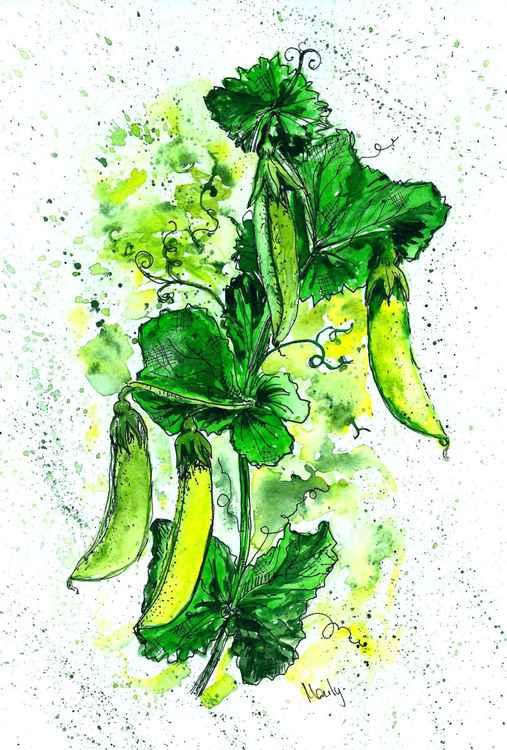 """""""Green pea"""""""